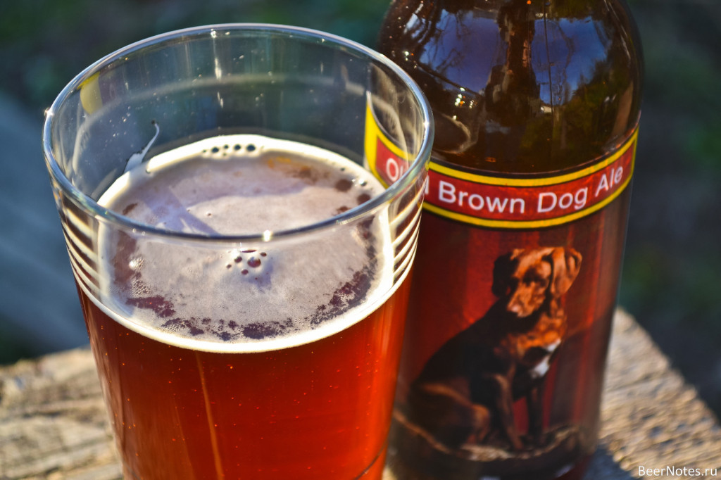 Smuttynose Old Brown Dog3