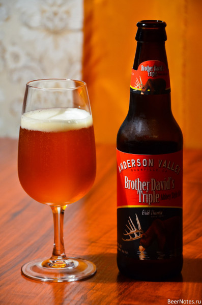 Anderson Valley Brother David's Triple Abbey Style Ale2