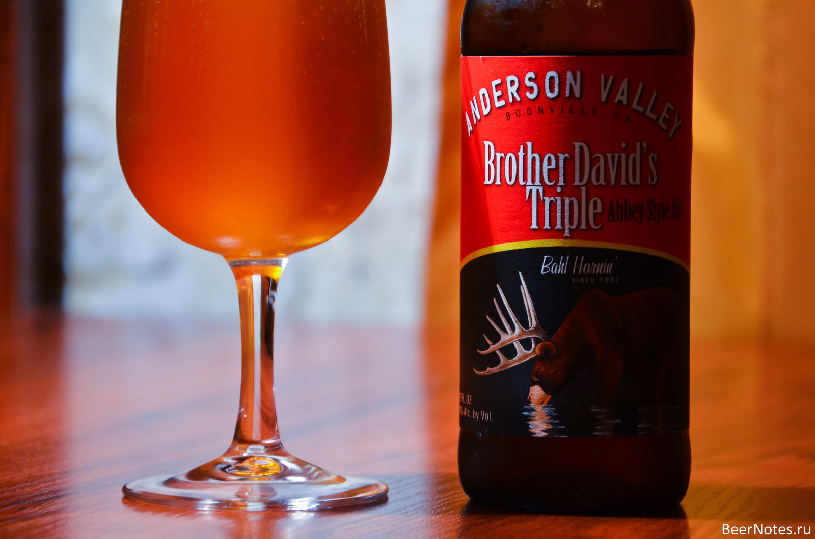 Anderson Valley Brother David's Triple Abbey Style Ale7
