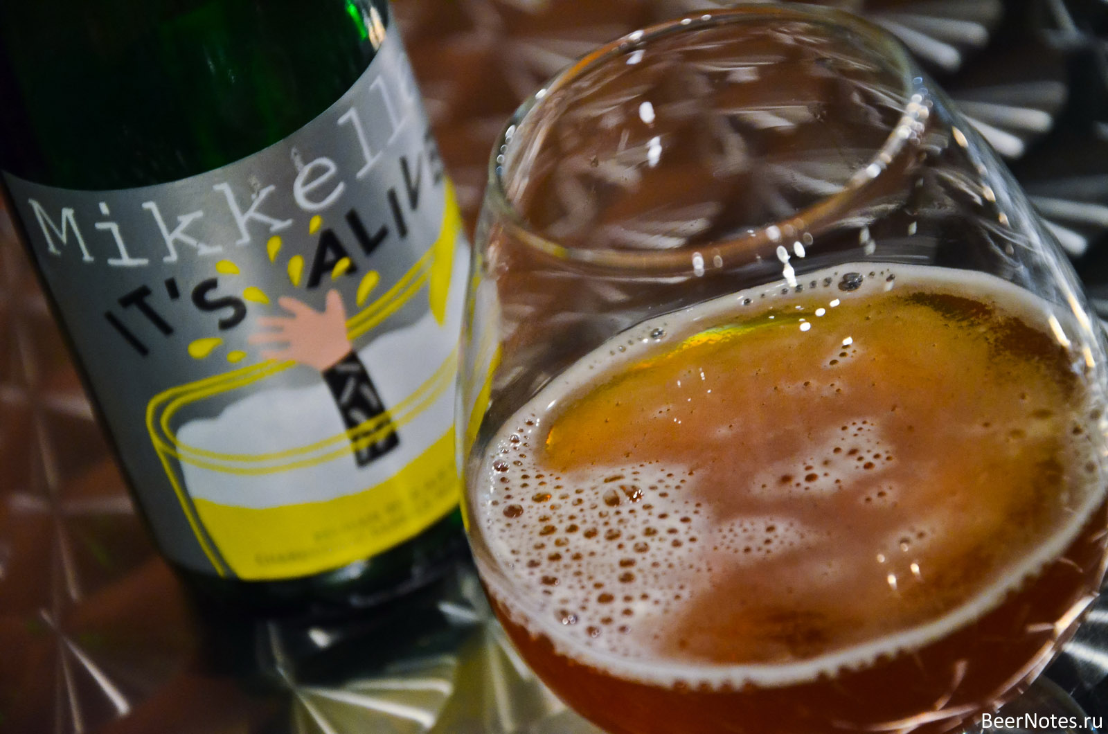 Mikkeller It's Alive! (Chardonnay Barrel with Mango Edition)3