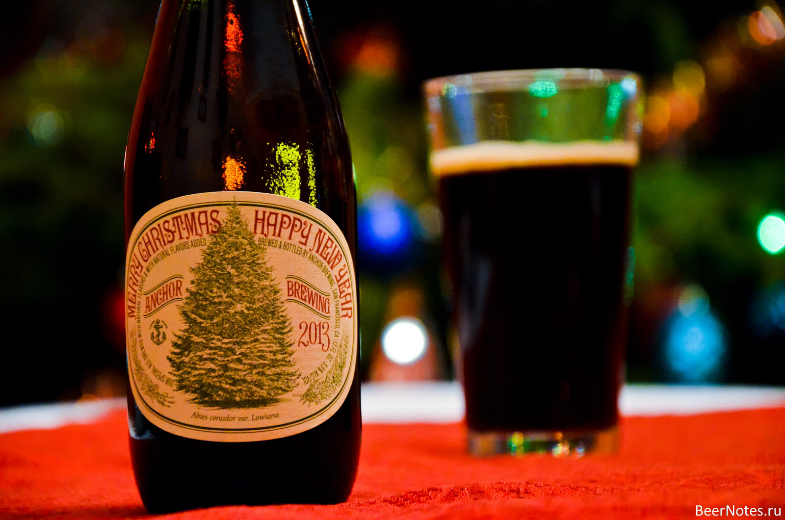 Anchor Christmas Ale 2013-3