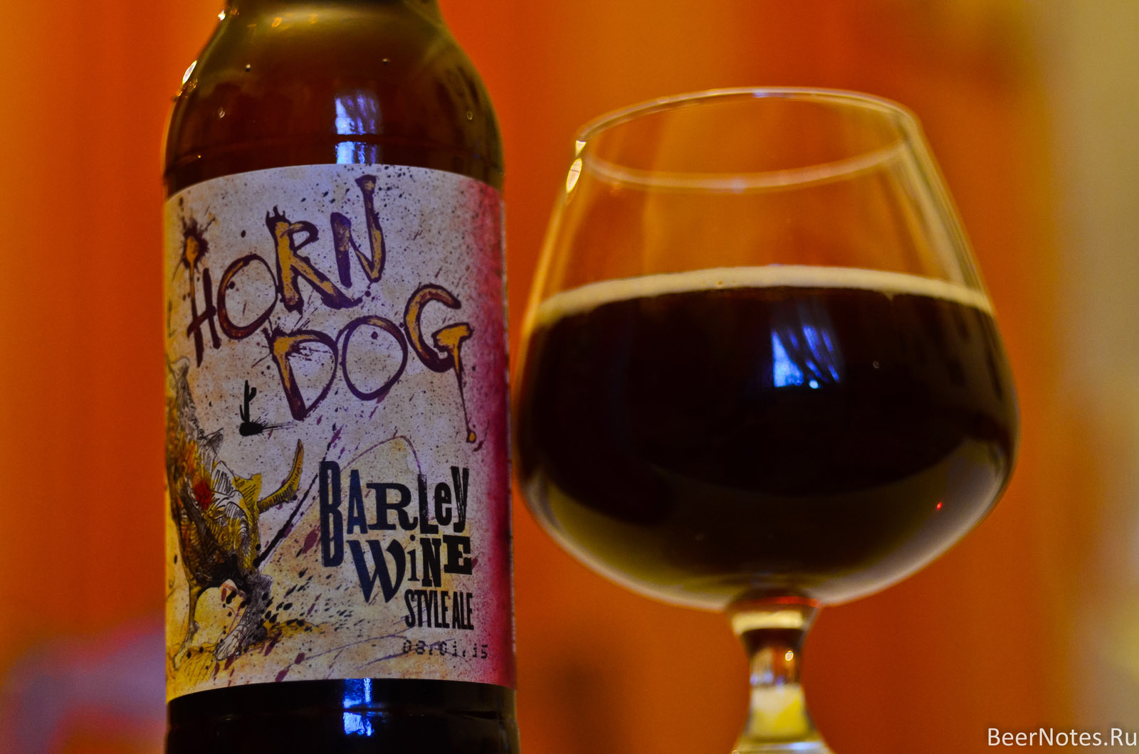 Flying Dog Horn Dog Barley Wine5