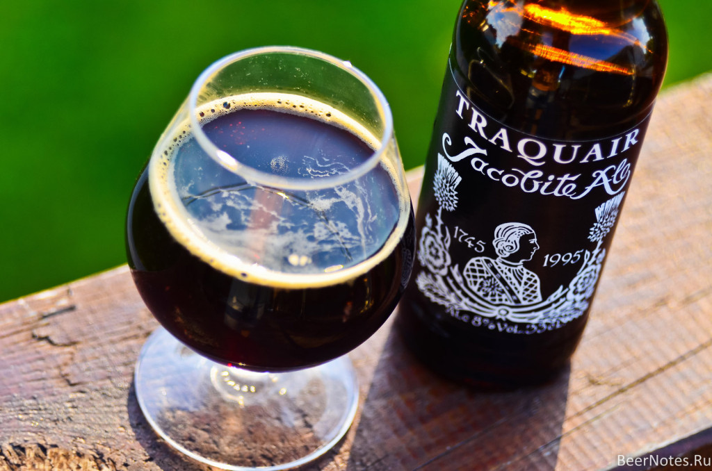 Traquair Jacobite Ale6