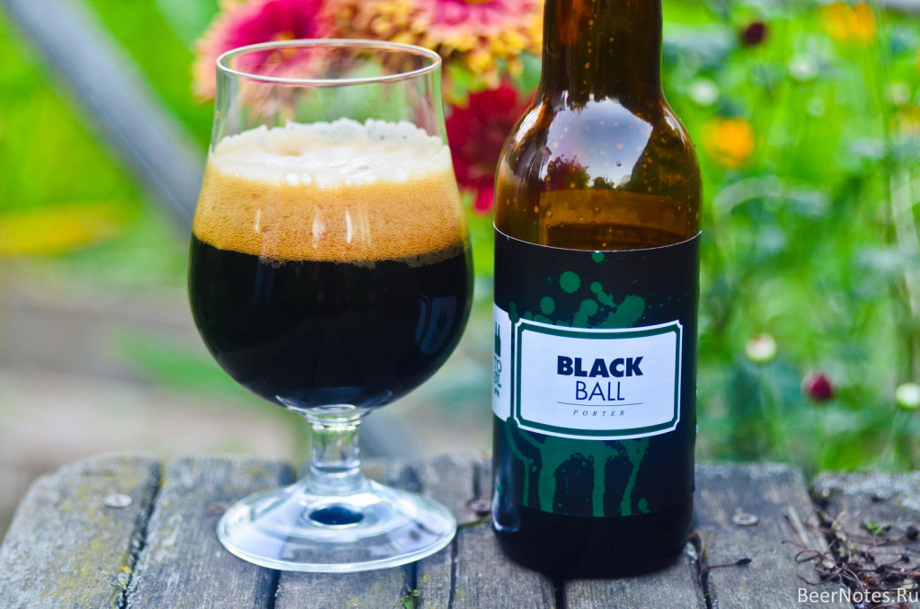 To Øl Black Ball Porter2