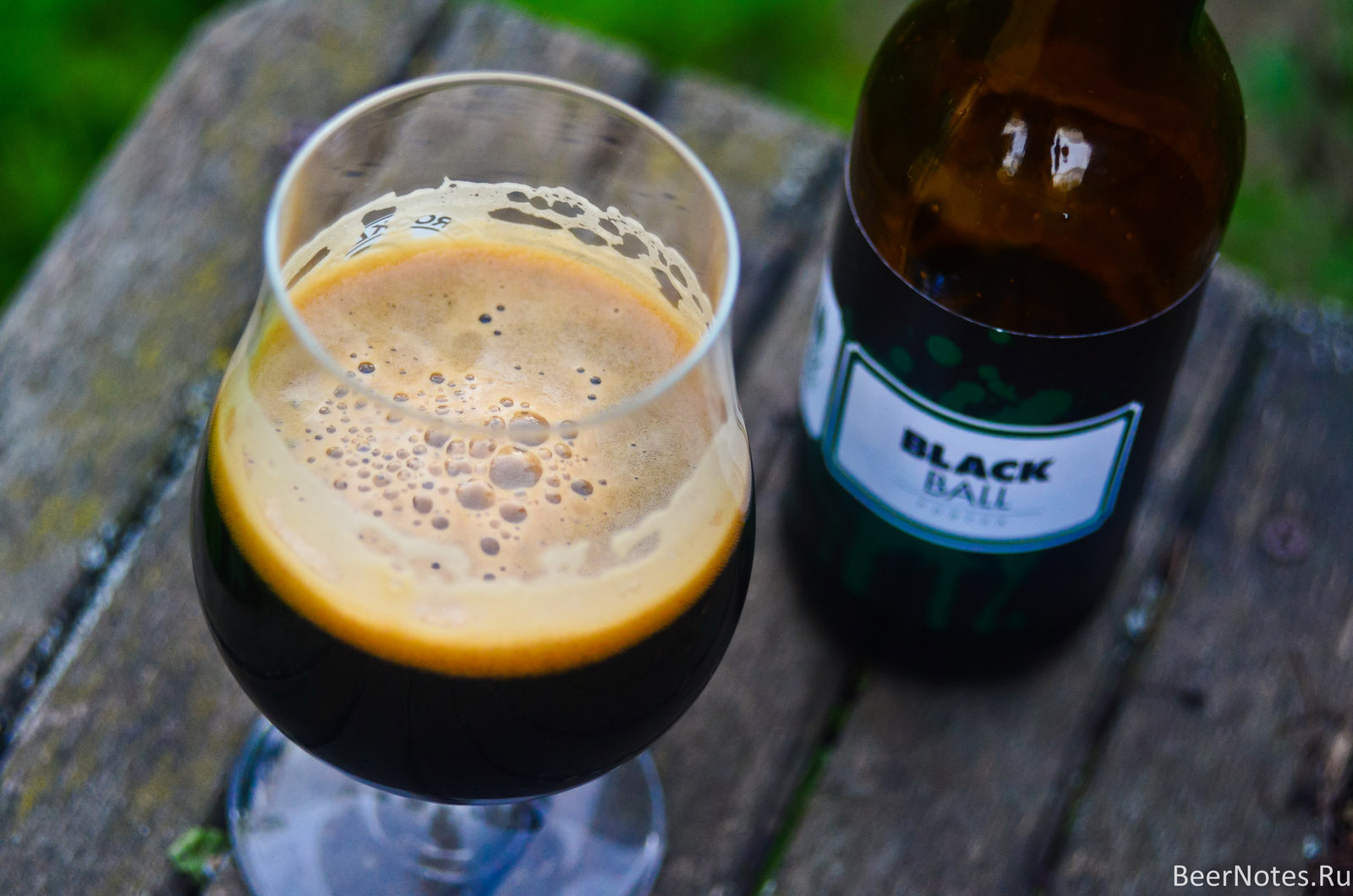 To Øl Black Ball Porter5